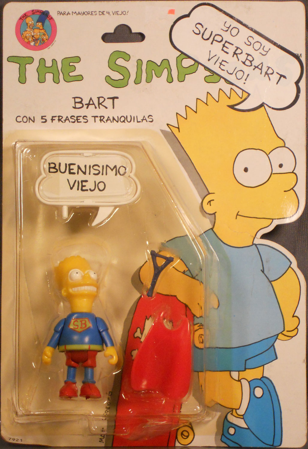 south american bart simpson the collector genethe collector gene