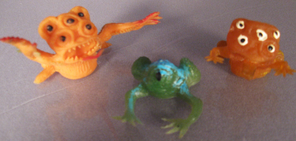 Frog Monster Jigglers
