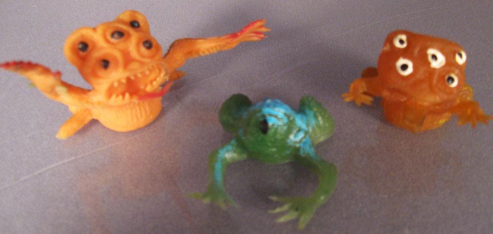 Frog Monster Jigglers