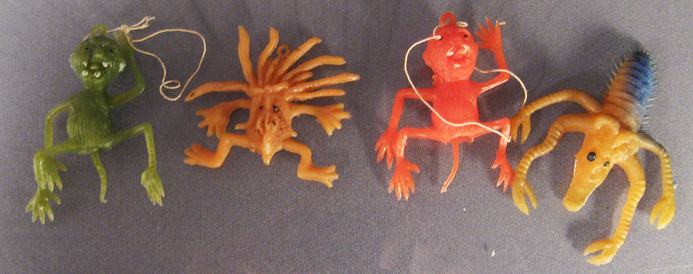 Figural Monster Jigglers