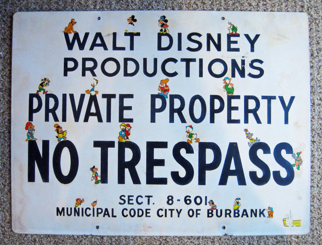 Disney-trespass-sign-1